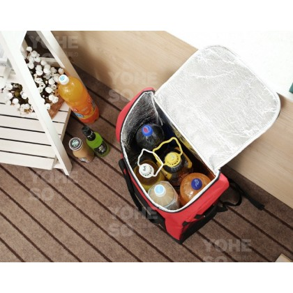 YOHESO 25L Large Insulated Thermal Lunch Box Warm Cooler Food Bag 1306